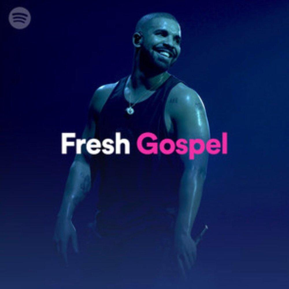 Drake Fresh Gospel cover